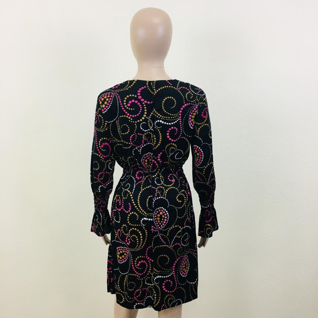 Vintage Women's Black Dress - 7