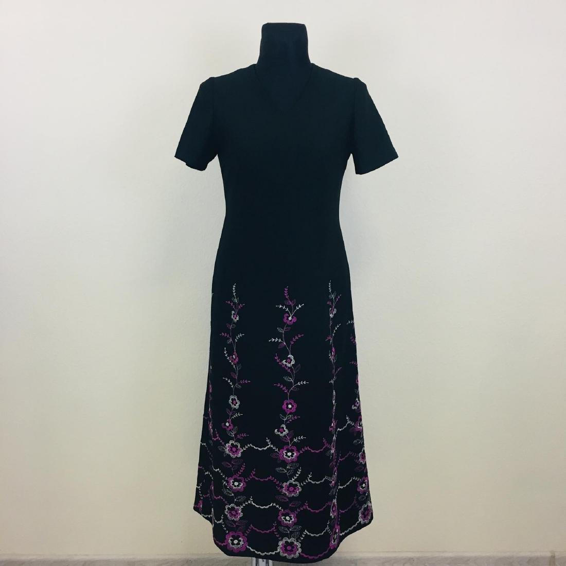 Vintage Women's Long Evening Dress