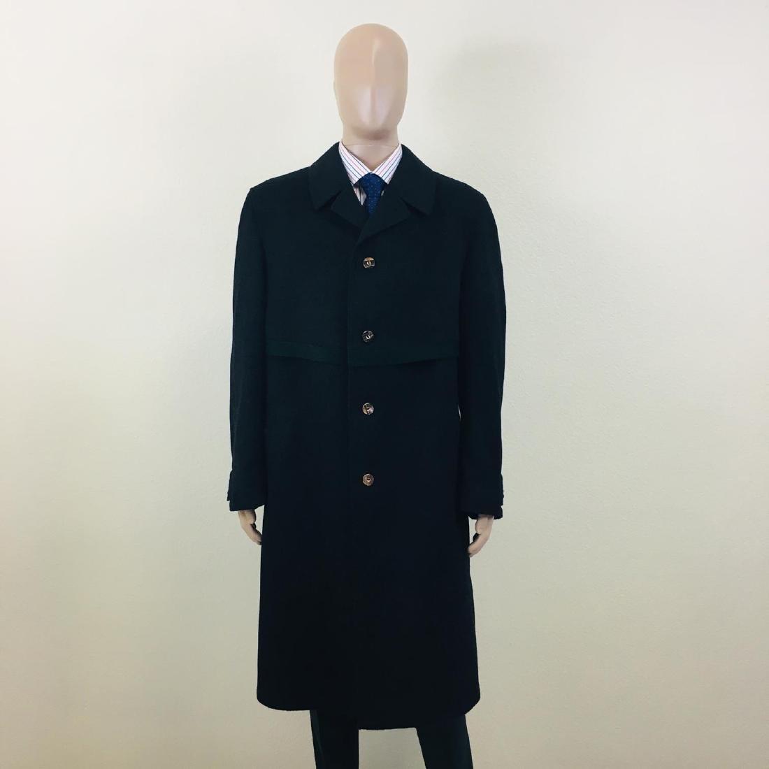 Men's LODENFREY German Designer Wool Blend Coat