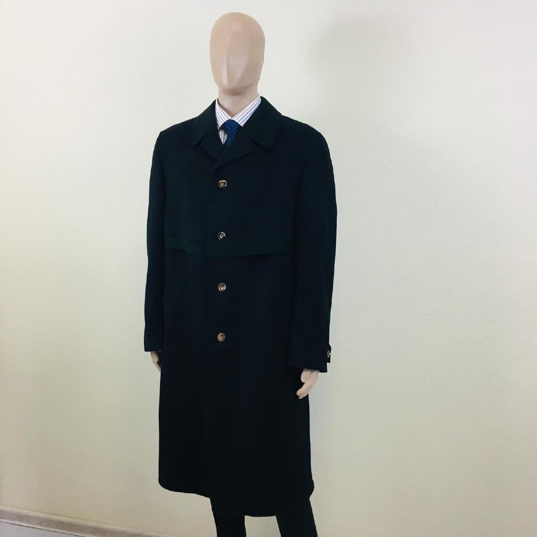 Men's LODENFREY German Designer Wool Blend Coat - 2