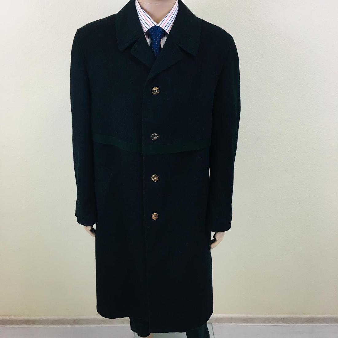 Men's LODENFREY German Designer Wool Blend Coat - 3
