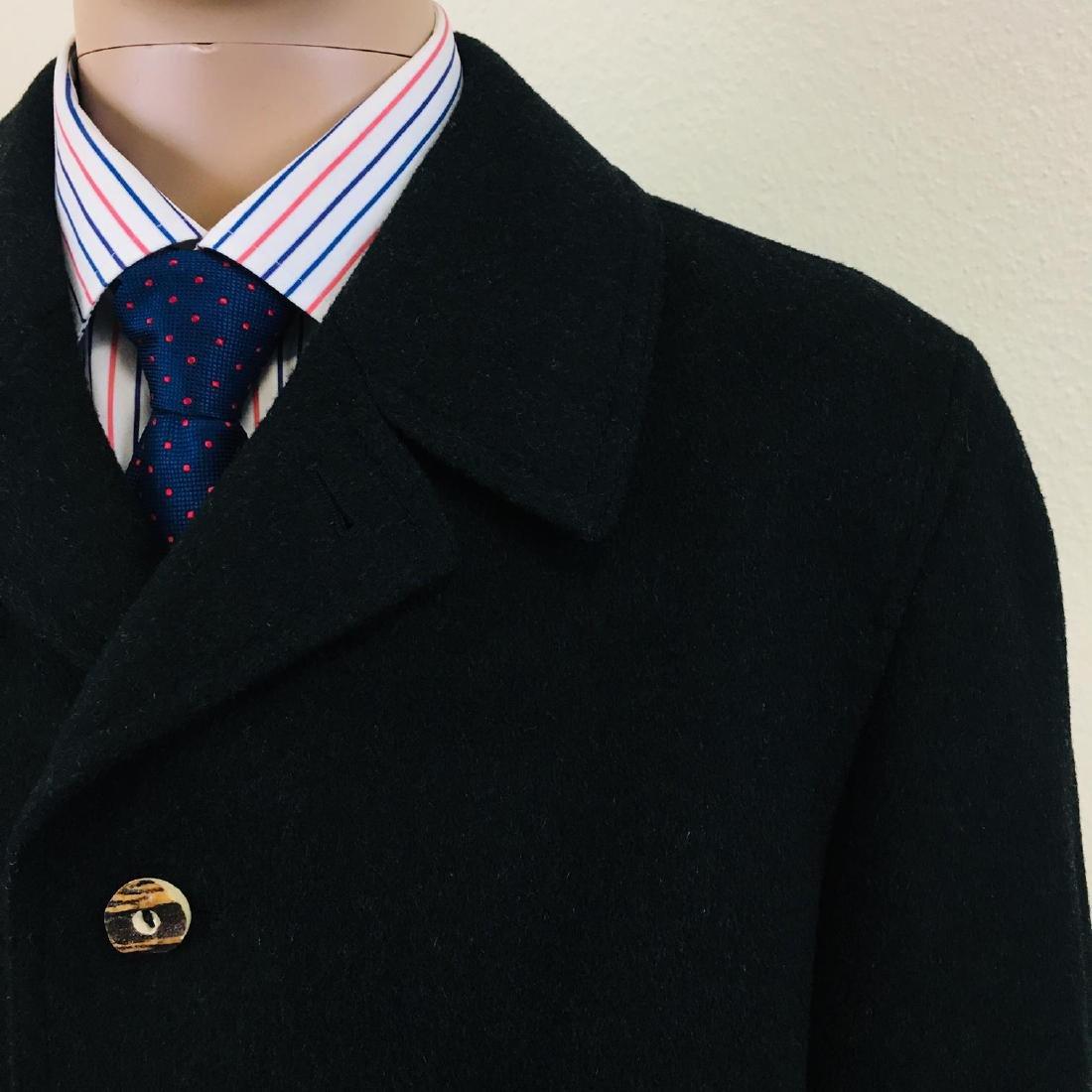 Men's LODENFREY German Designer Wool Blend Coat - 4