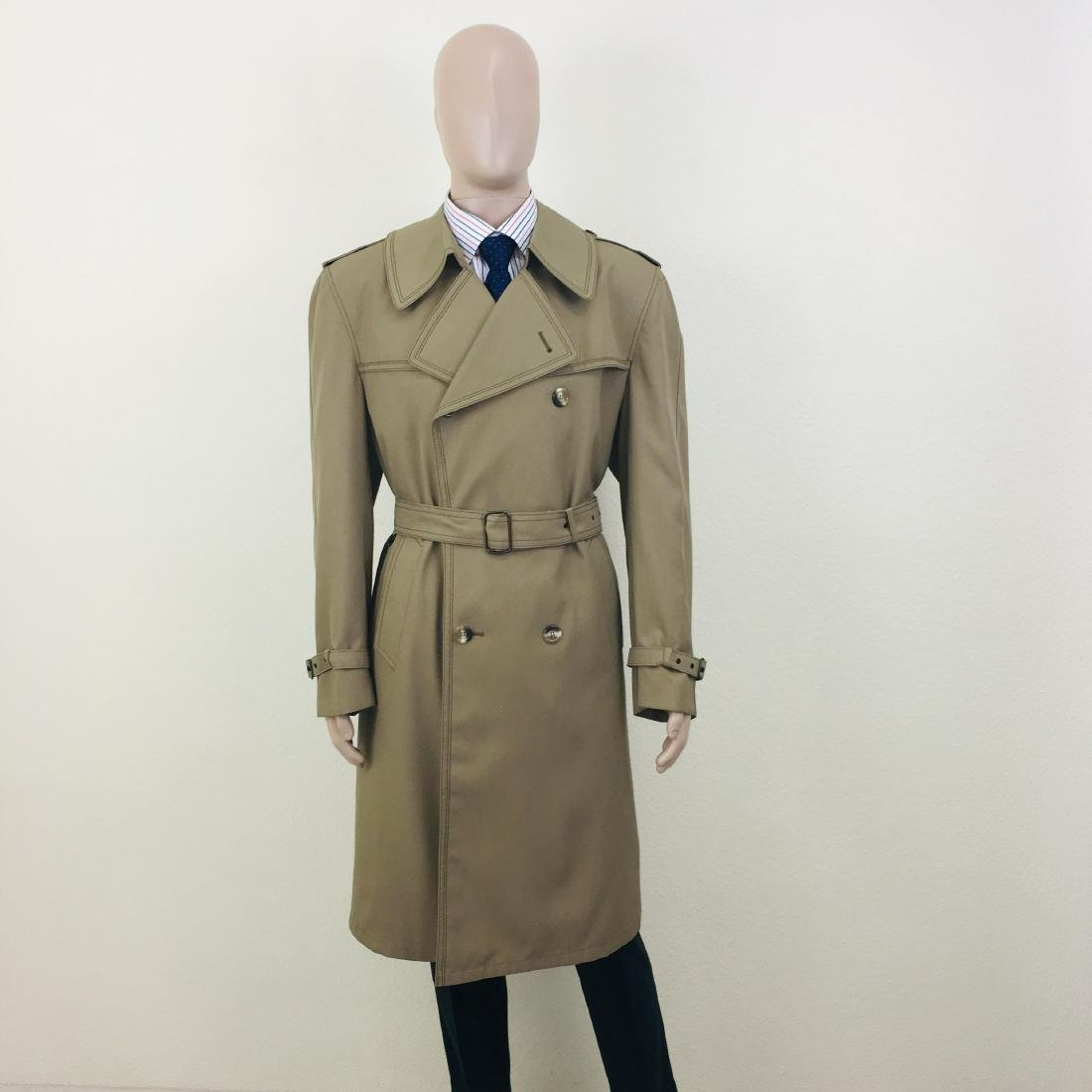 Vintage Men's Dress Boraj High Quality Trench Coat