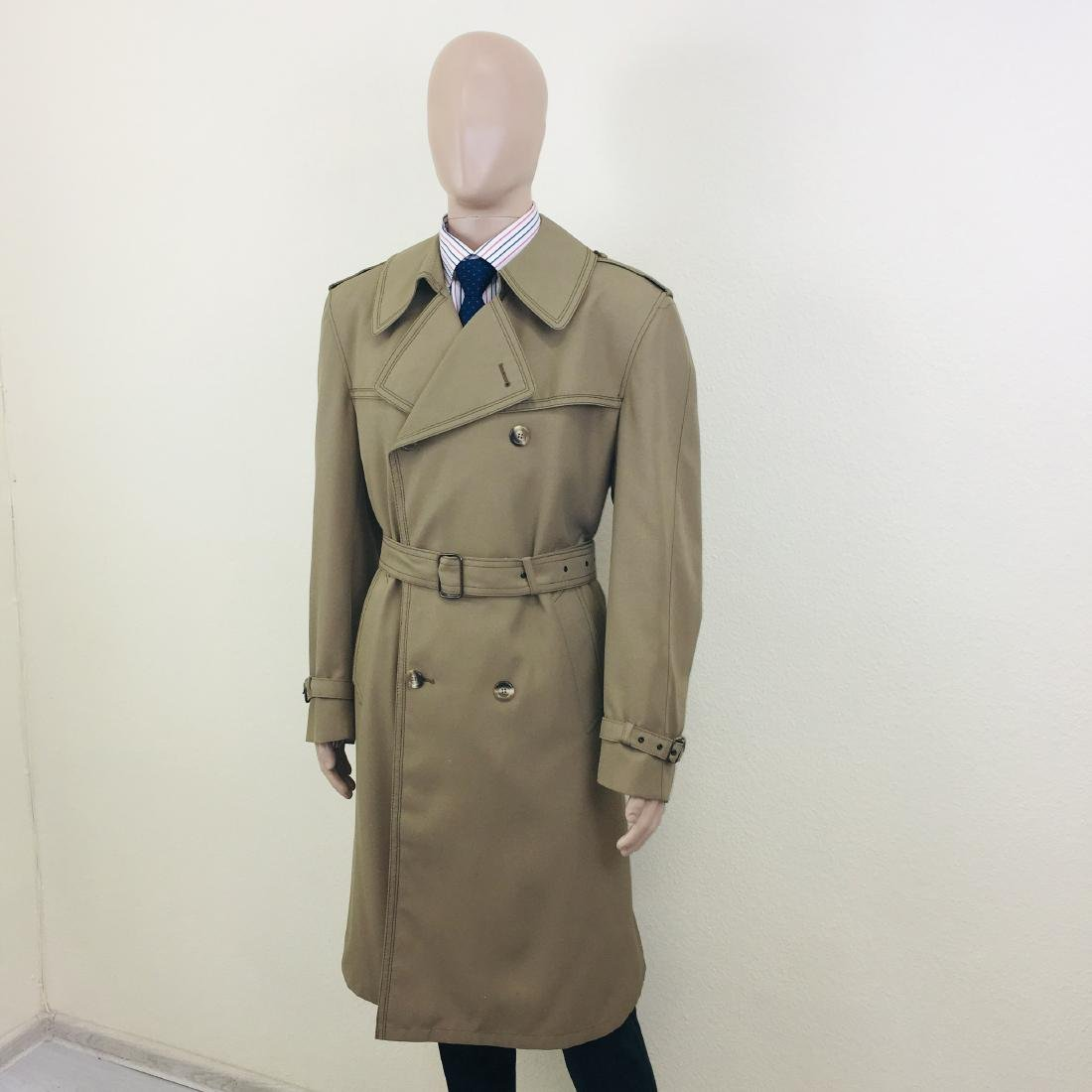 Vintage Men's Dress Boraj High Quality Trench Coat - 2