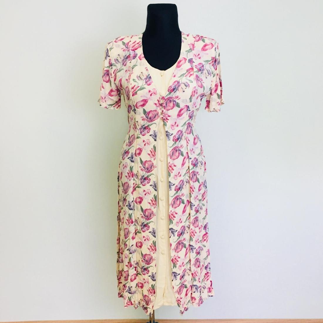 Vintage Women's Day Coctail Dress