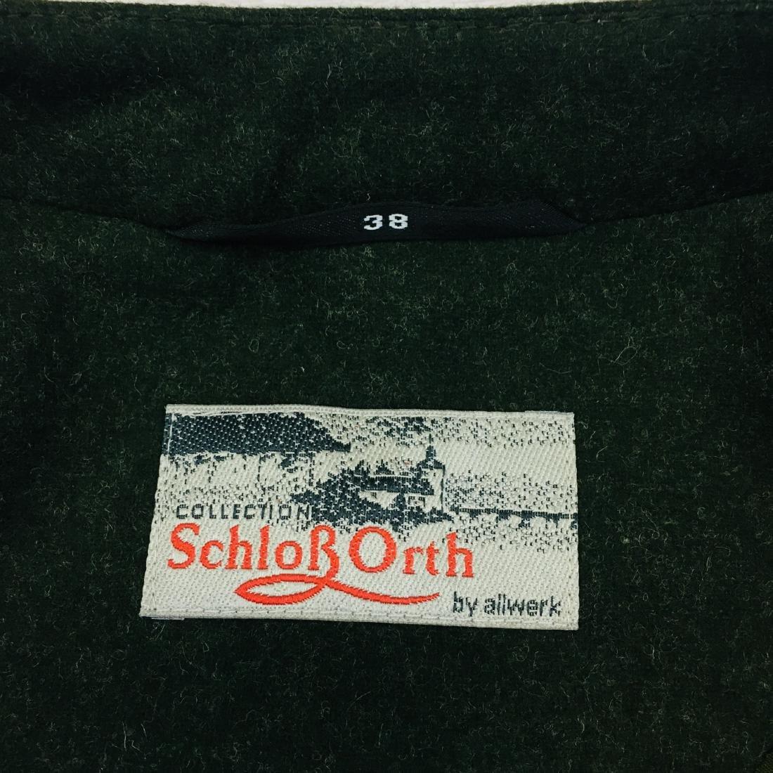 Women's Tyrolean Wool Blend Blazer Jacket - 10