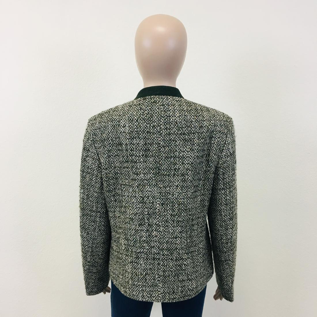 Women's Tyrolean Wool Blend Blazer Jacket - 8