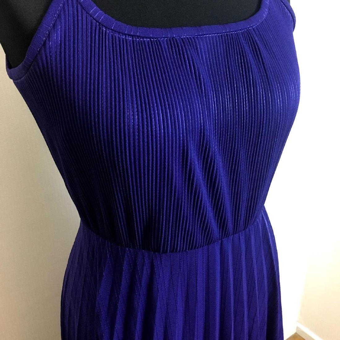 Vintage Women's Coctail Evening Maxi Dress - 3