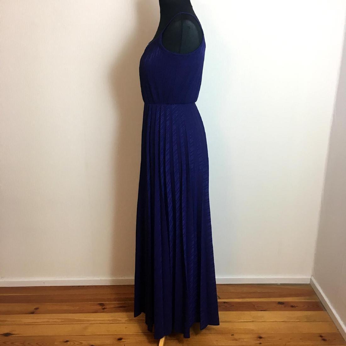 Vintage Women's Coctail Evening Maxi Dress - 4