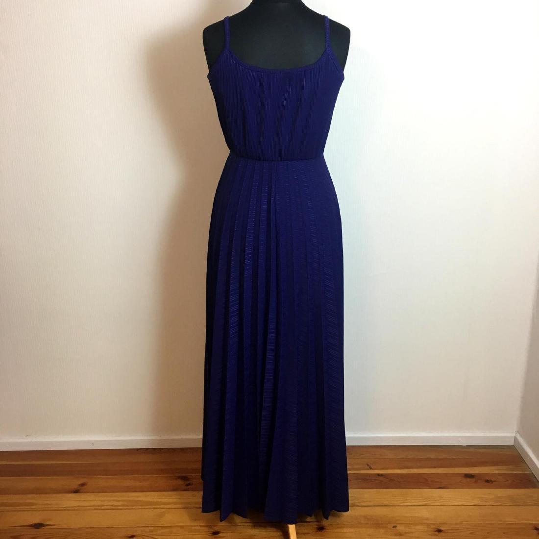 Vintage Women's Coctail Evening Maxi Dress - 5