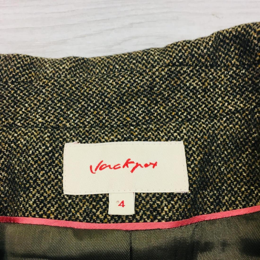 Women's Vackpot Romanian Designer Wool Blend Blazer - 6