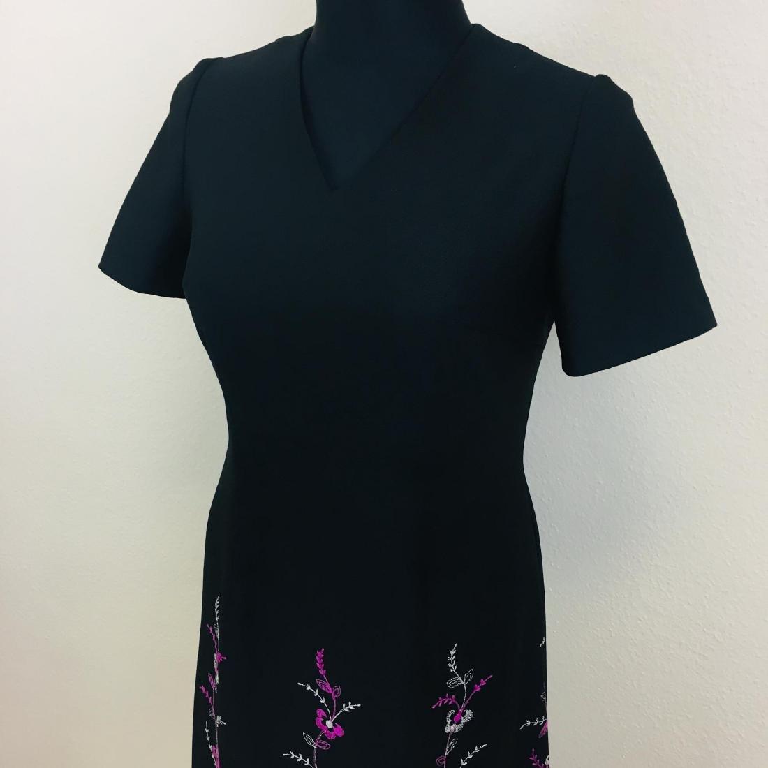 Vintage Women's Long Evening Dress - 2