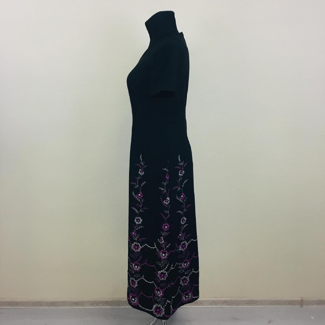 Vintage Women's Long Evening Dress - 4