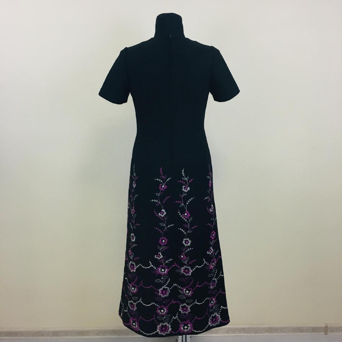 Vintage Women's Long Evening Dress - 5