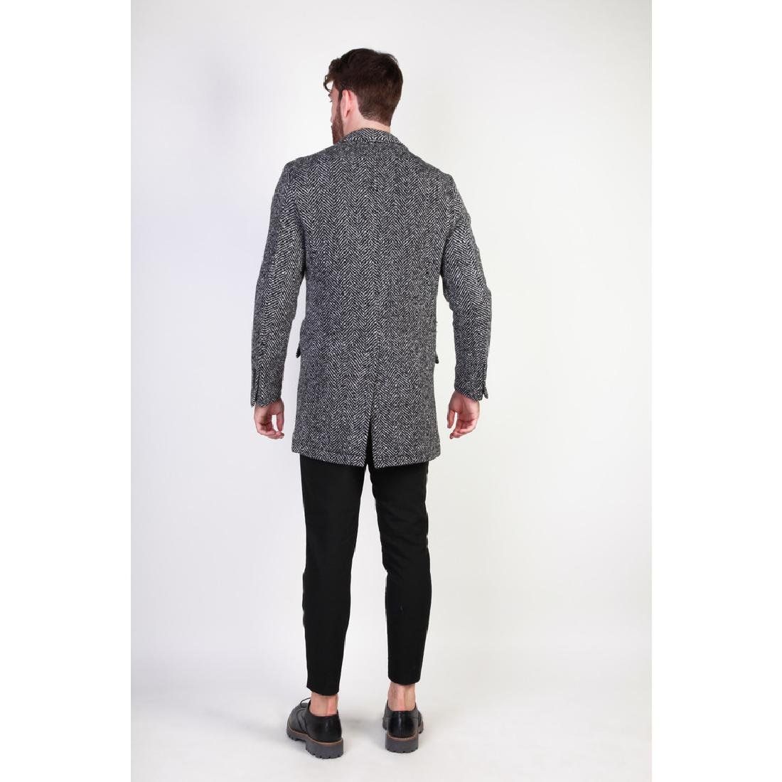 New Men's Italian Wool Blend Coat US 40 - 4