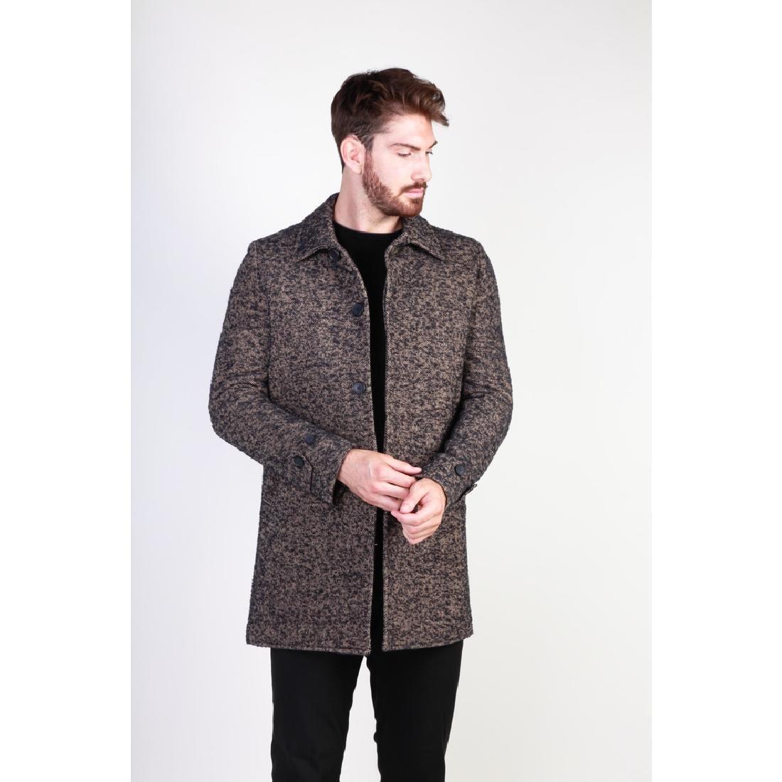 New Men's Italian Wool Blend Coat US 38