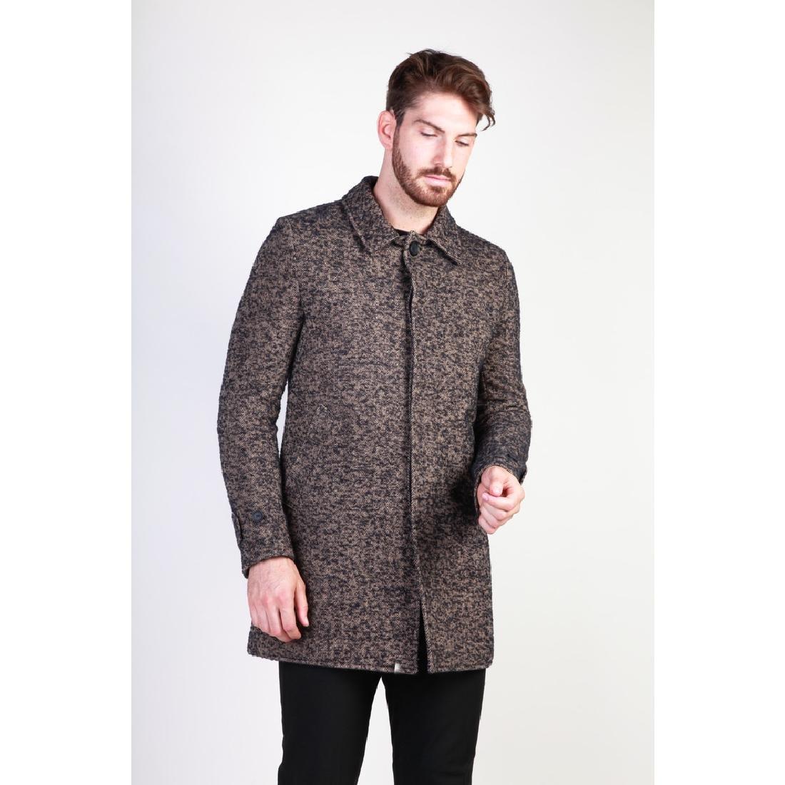New Men's Italian Wool Blend Coat US 38 - 2