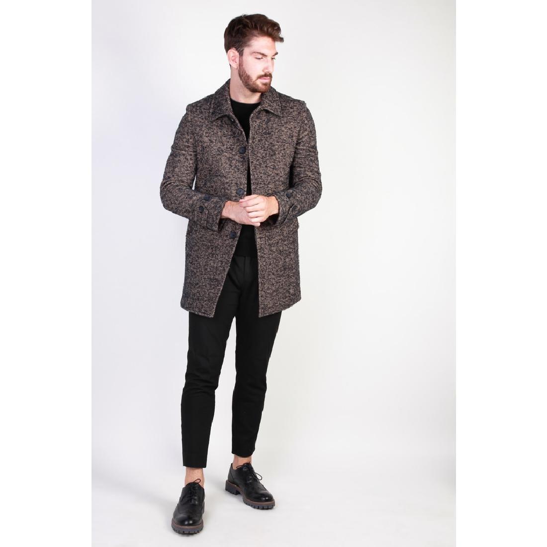 New Men's Italian Wool Blend Coat US 38 - 3