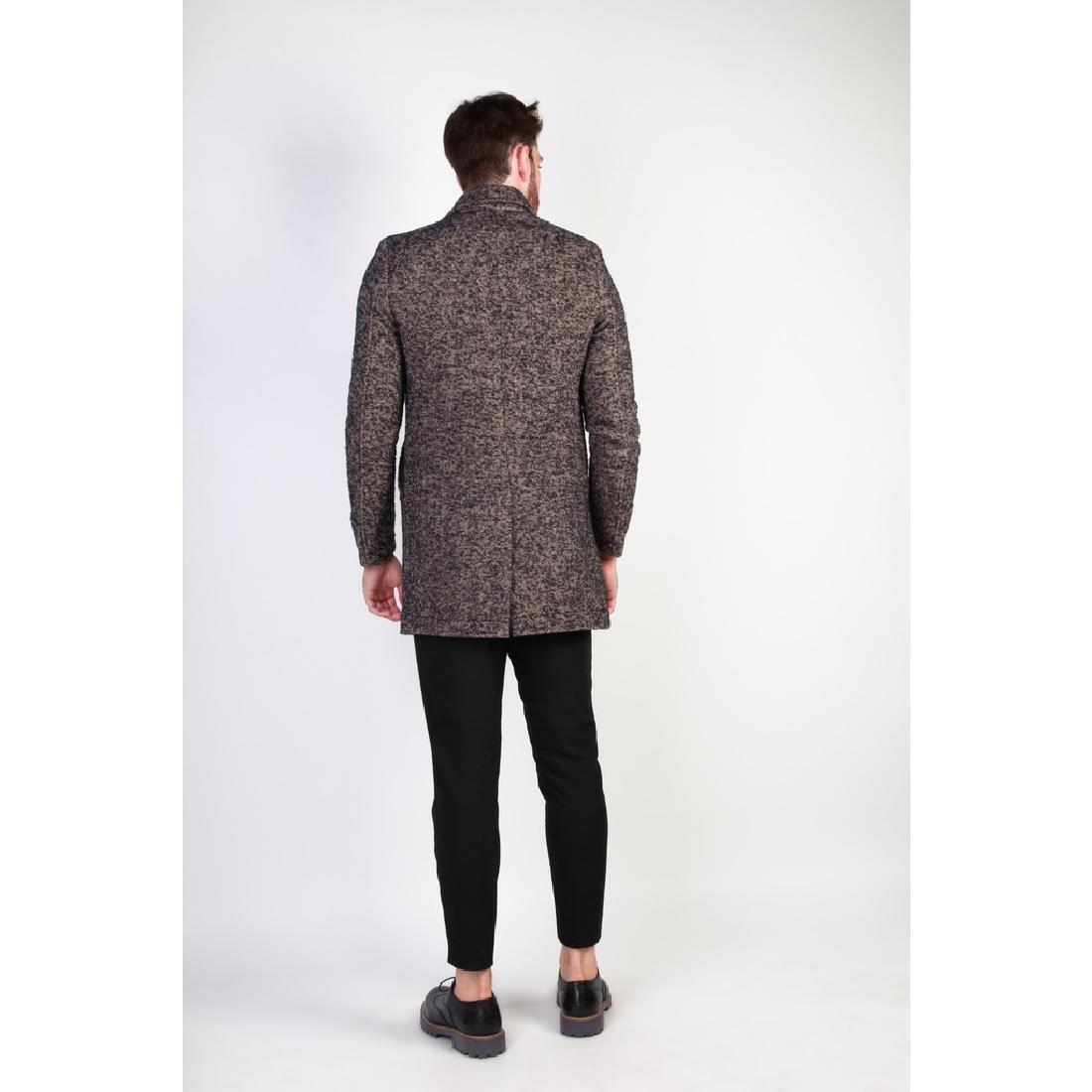 New Men's Italian Wool Blend Coat US 38 - 4
