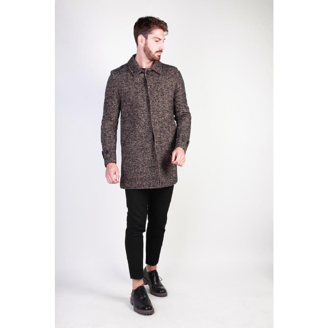 New Men's Italian Wool Blend Coat US 38 - 5
