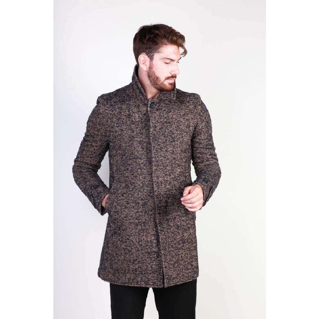New Men's Italian Wool Blend Coat US 38 - 6