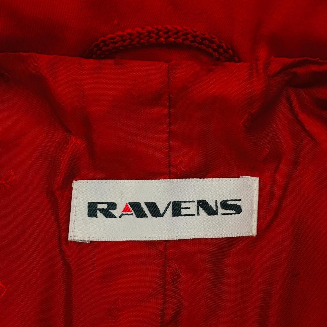Vintage Women's RAVENS Designer Wool Blend Blazer - 10