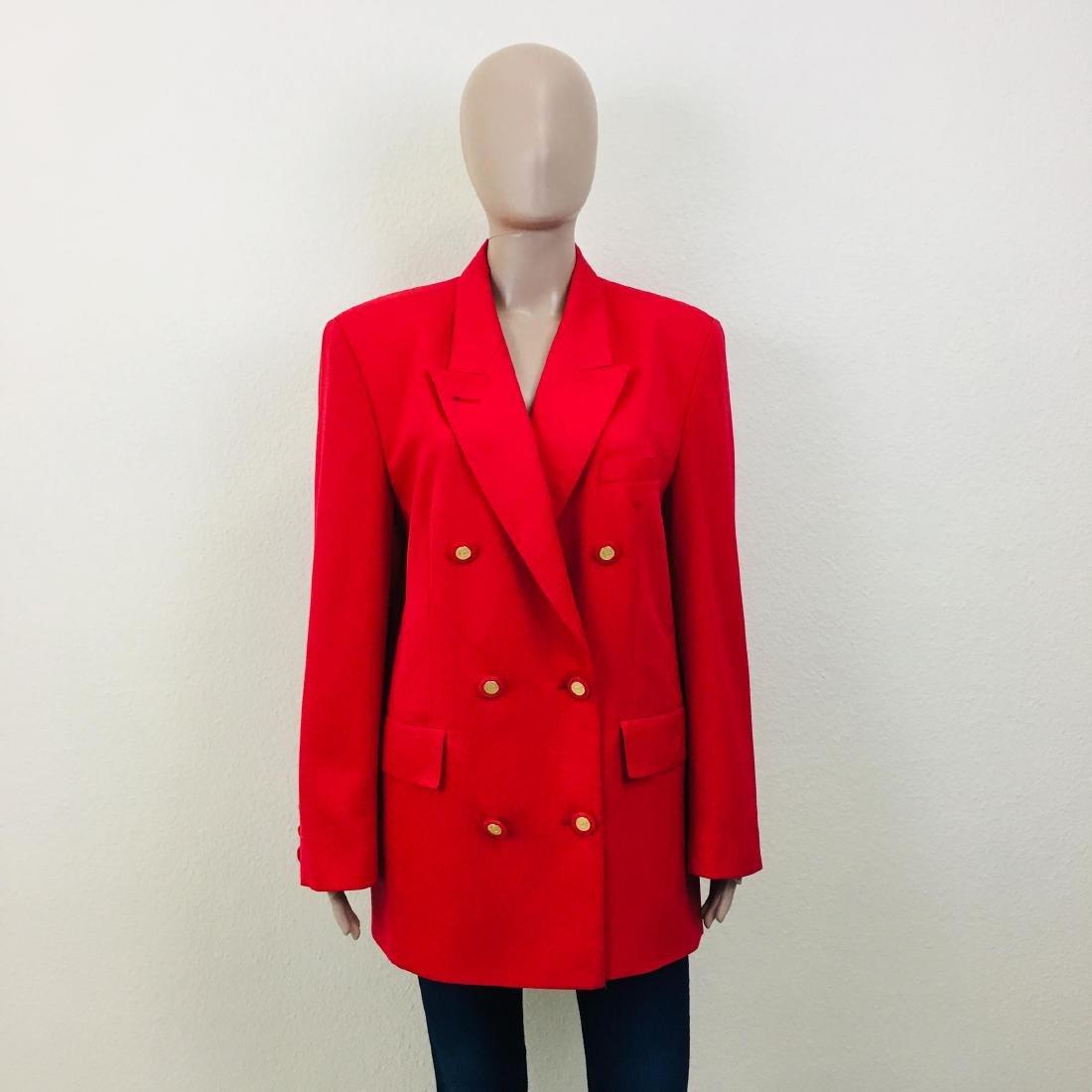 Vintage Women's RAVENS Designer Wool Blend Blazer
