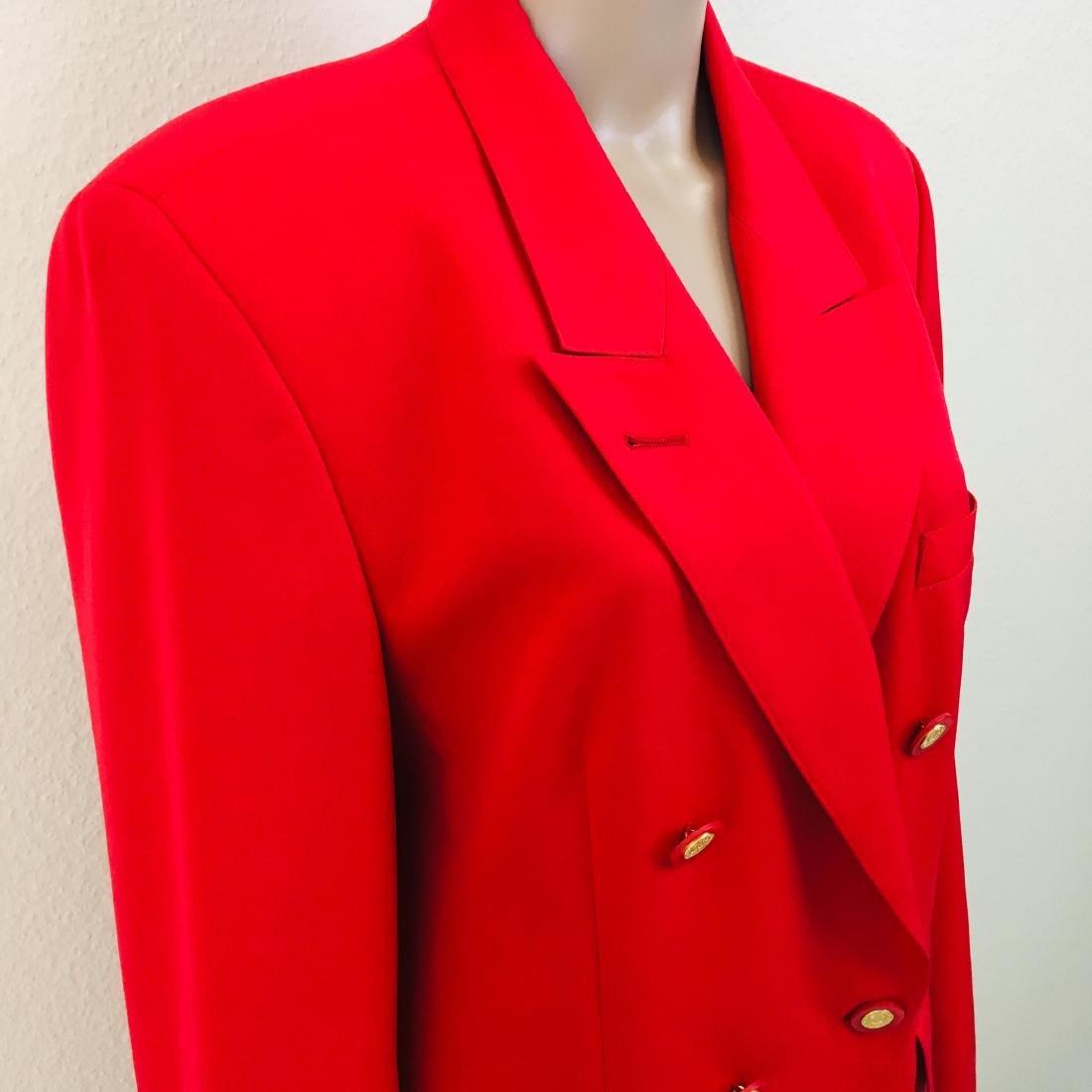 Vintage Women's RAVENS Designer Wool Blend Blazer - 5