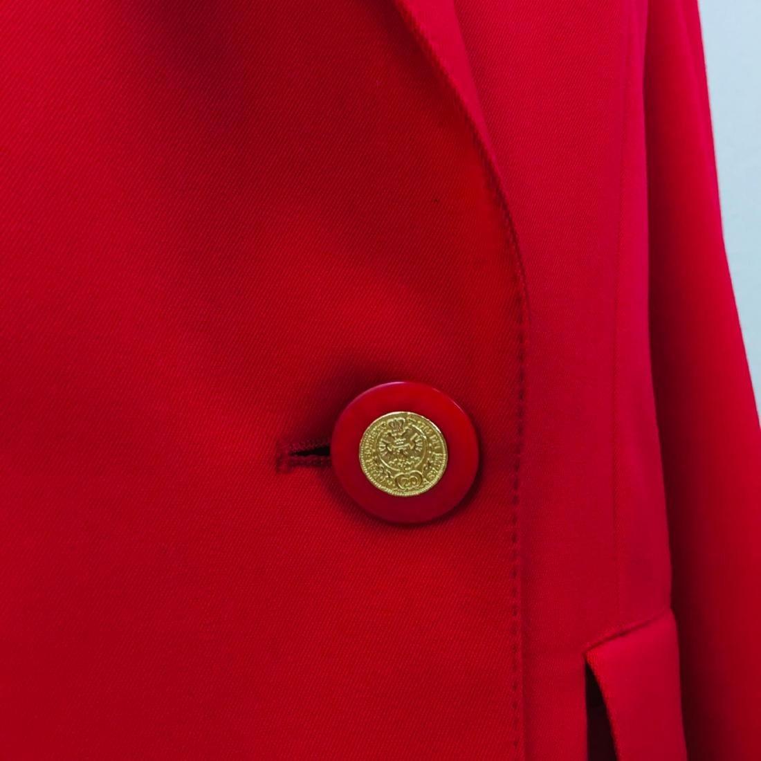 Vintage Women's RAVENS Designer Wool Blend Blazer - 6