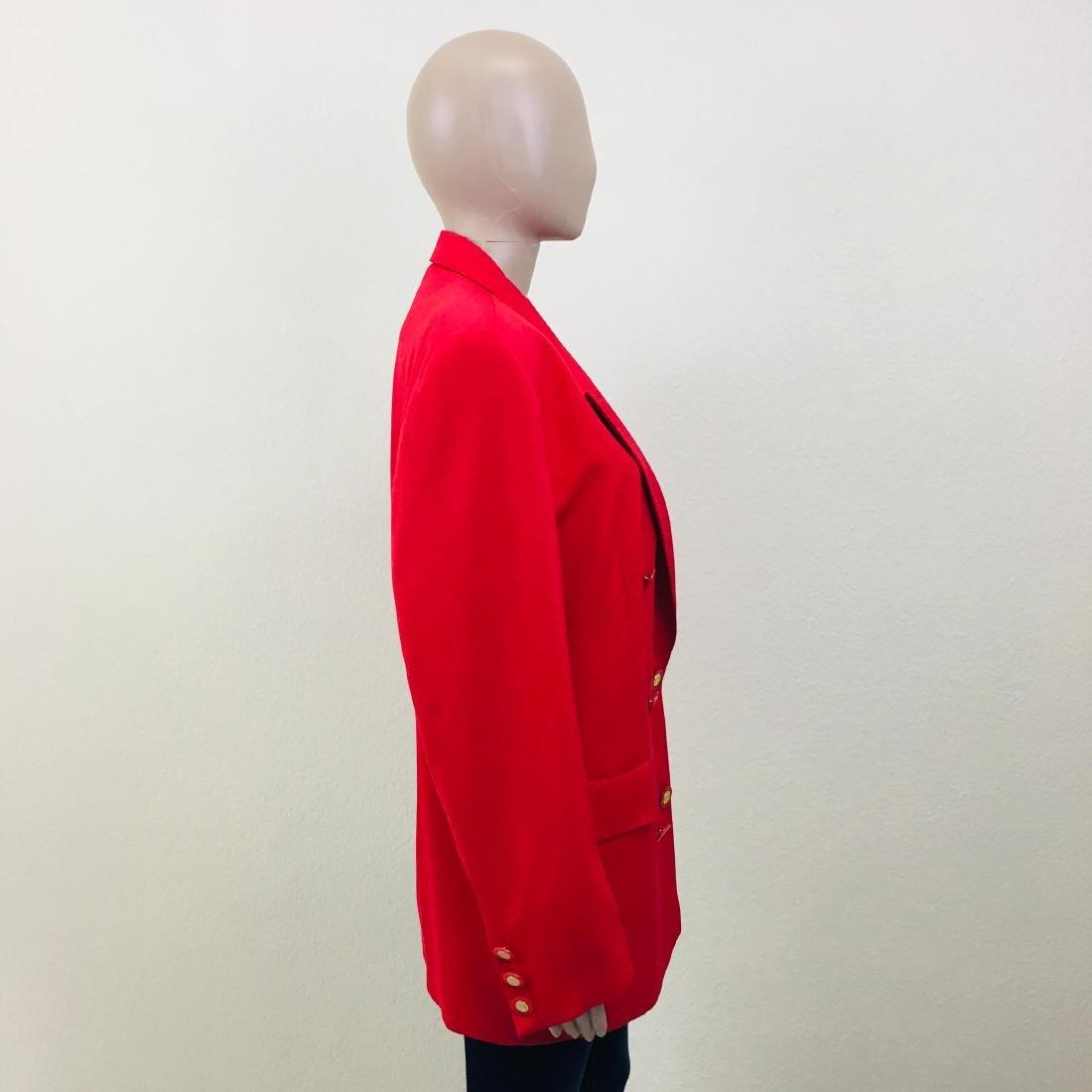 Vintage Women's RAVENS Designer Wool Blend Blazer - 7