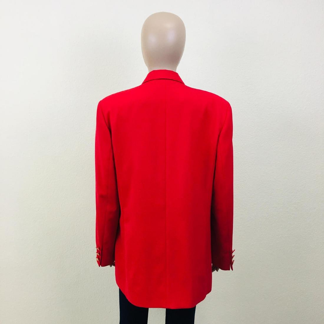 Vintage Women's RAVENS Designer Wool Blend Blazer - 8