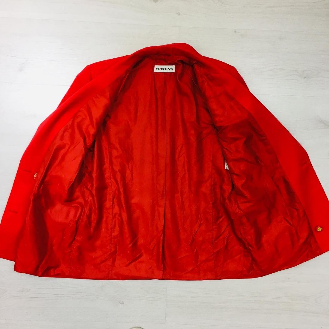 Vintage Women's RAVENS Designer Wool Blend Blazer - 9