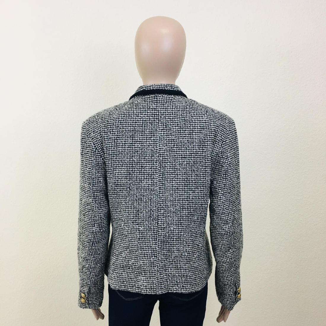 Vintage Women's Santarelli Designer Wool Blend Blazer - 6
