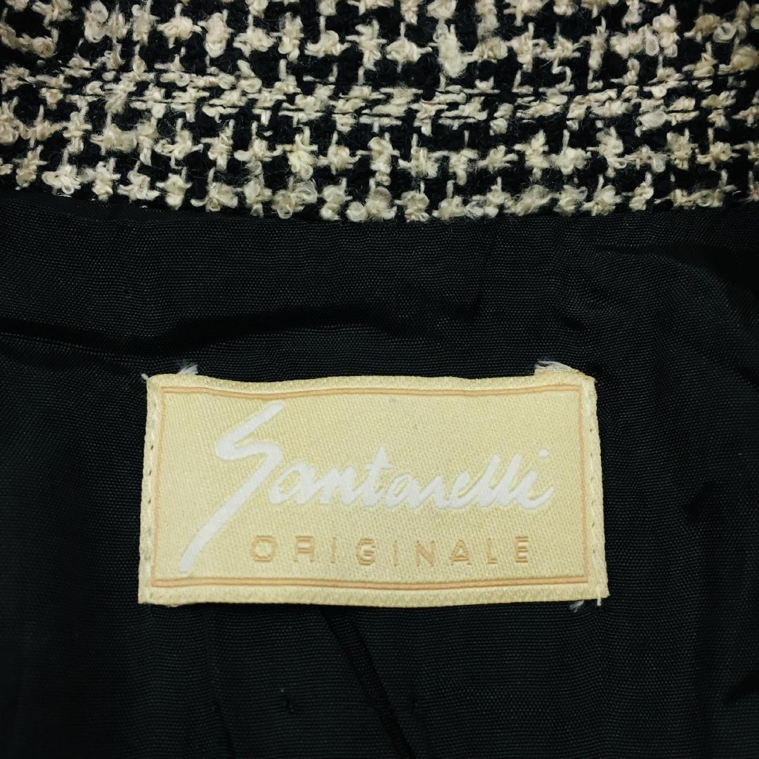 Vintage Women's Santarelli Designer Wool Blend Blazer - 7