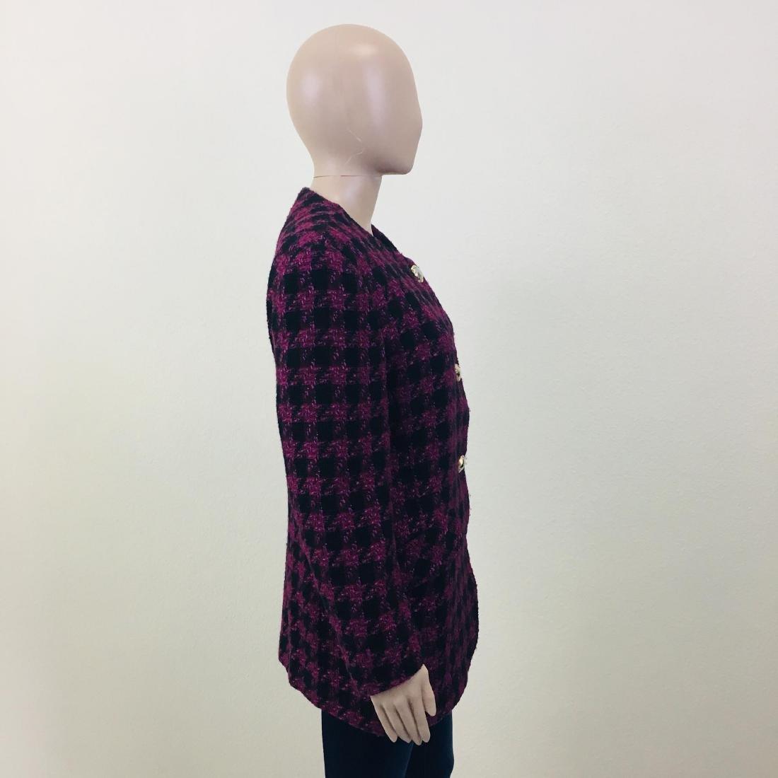 Vintage Women's Uknown Italian Designer Wool Blend - 6