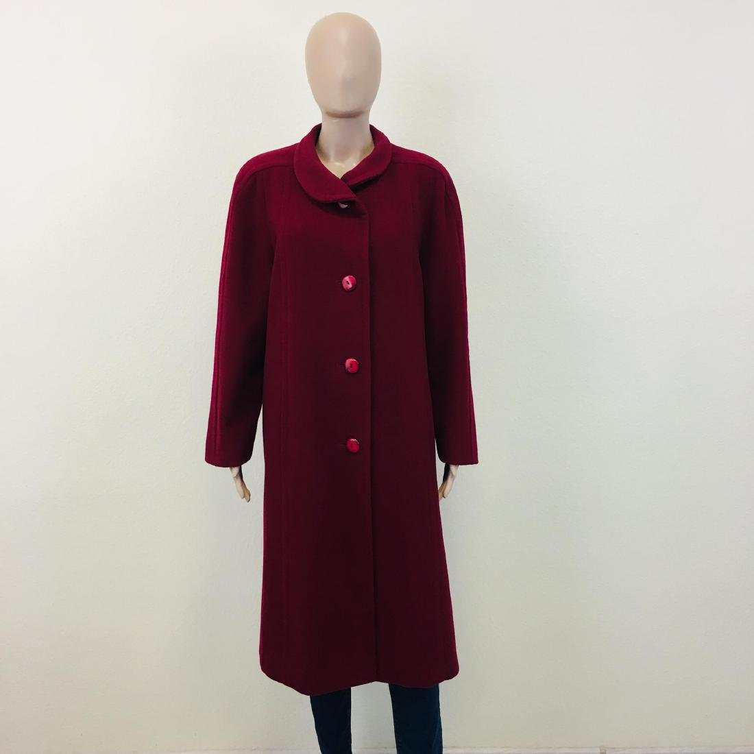 Women's Strowenz Designer Wool Blend Long Coat
