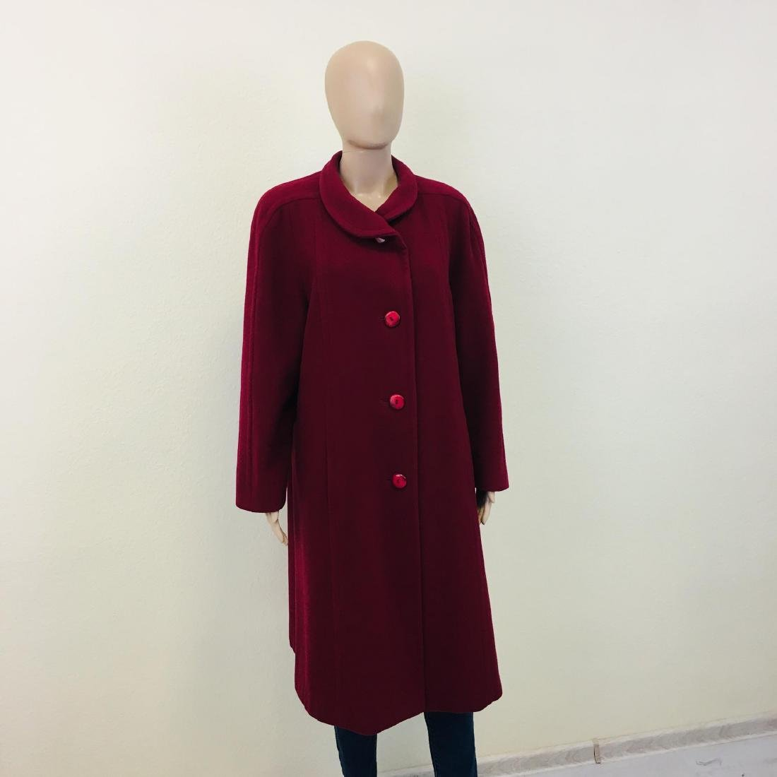 Women's Strowenz Designer Wool Blend Long Coat - 2