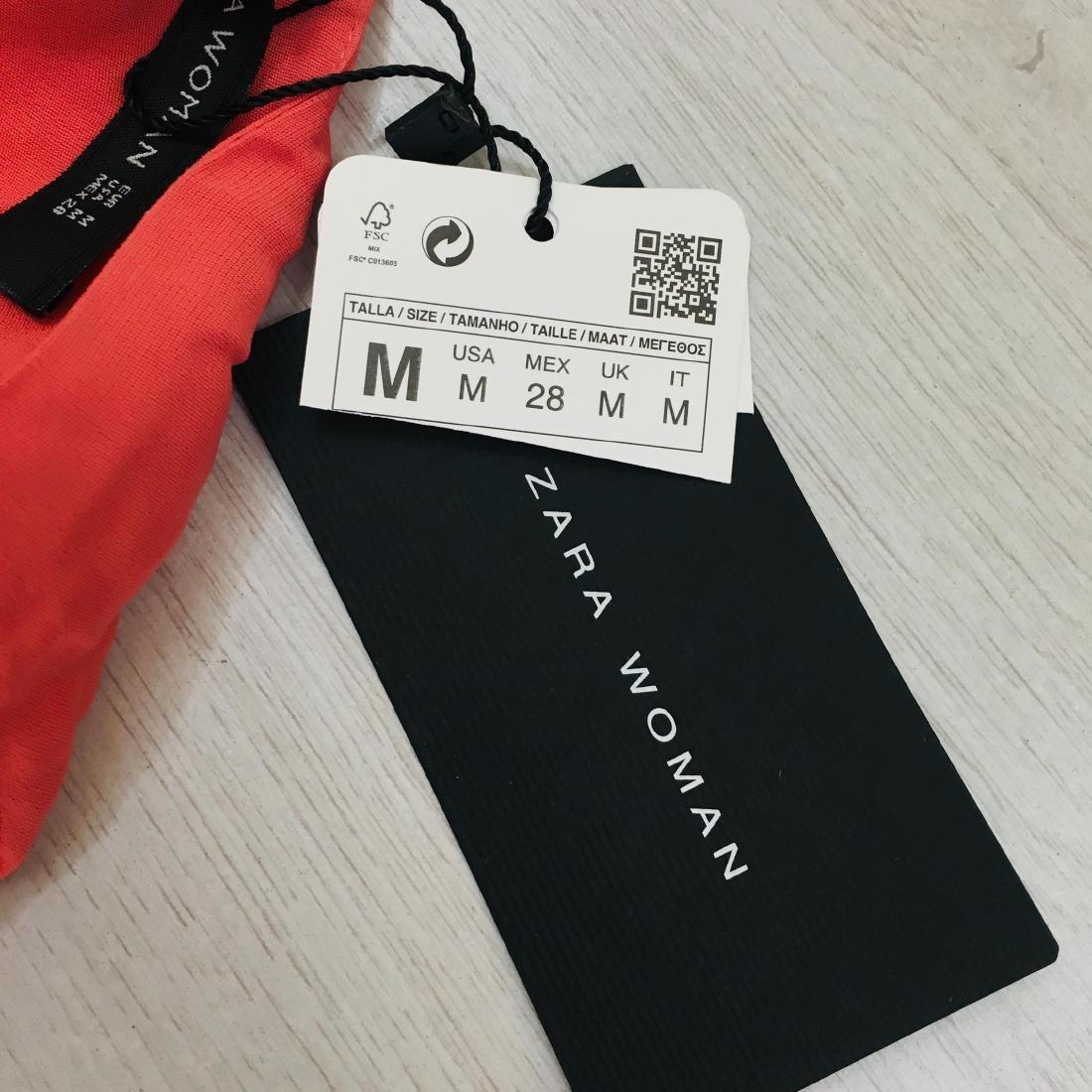 New Women's ZARA Top Blouse Size M - 8