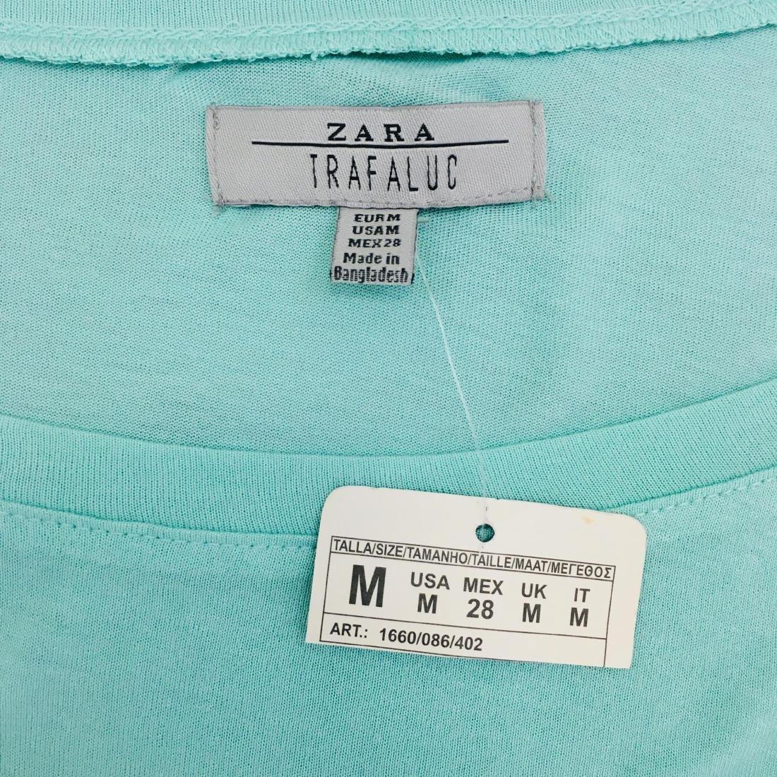 New Women's ZARA Top Blouse Size M - 10