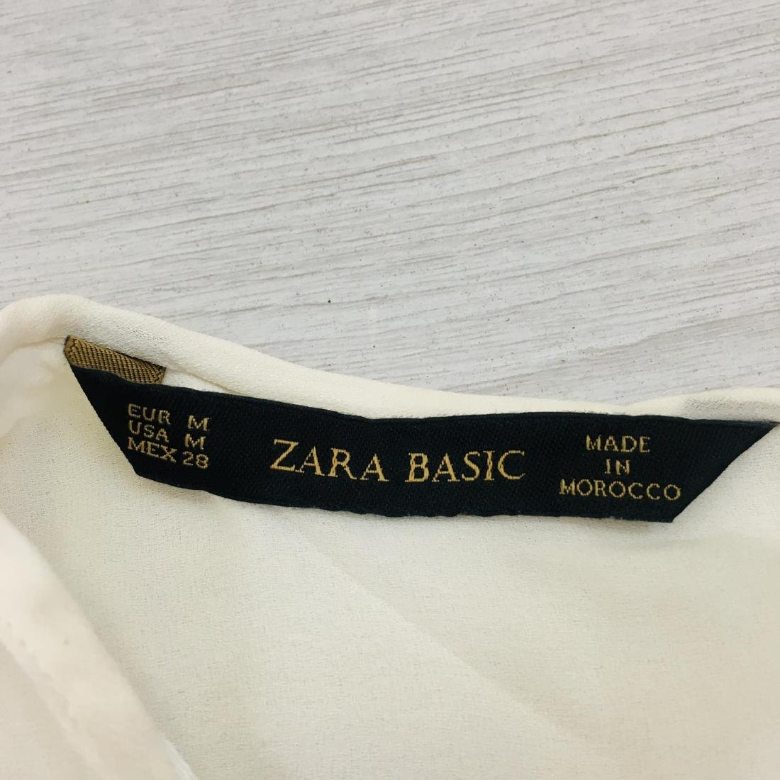 New Women's ZARA Top Blouse Size M - 9