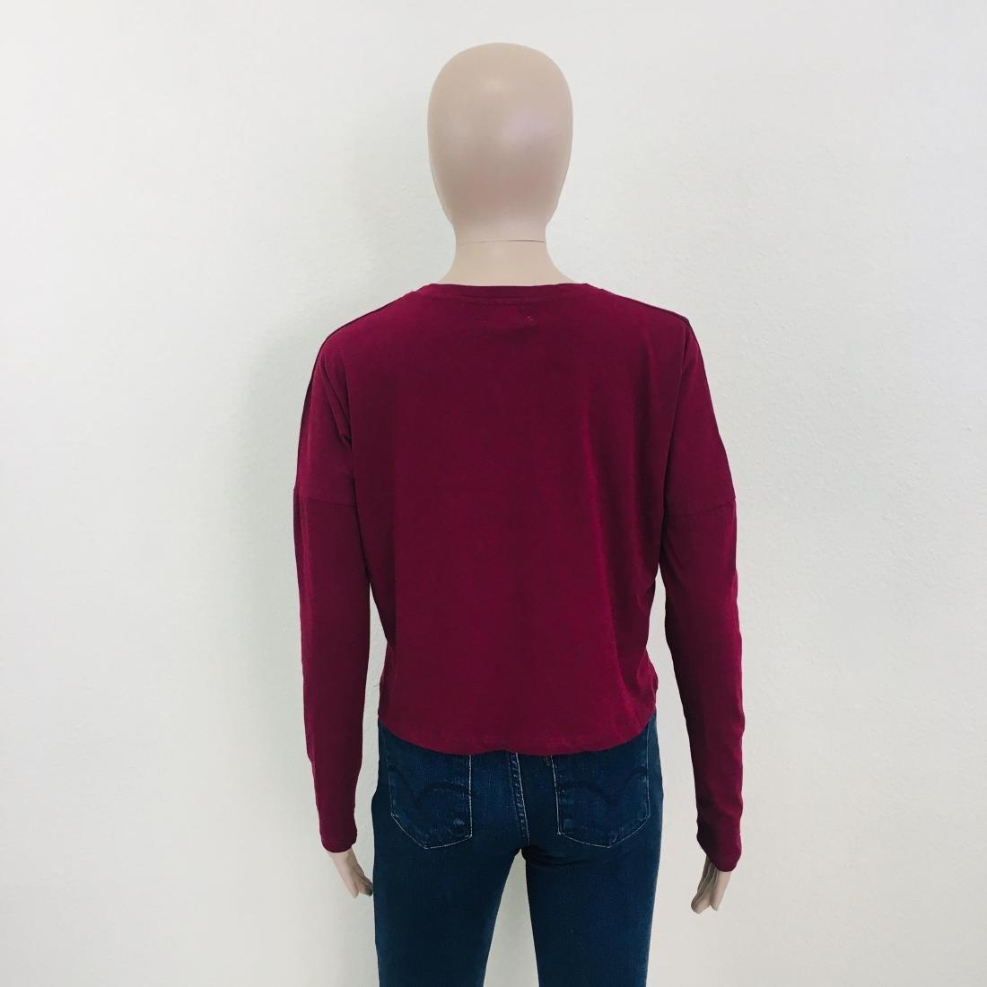 New Women's ZARA Top Blouse Size S - 7