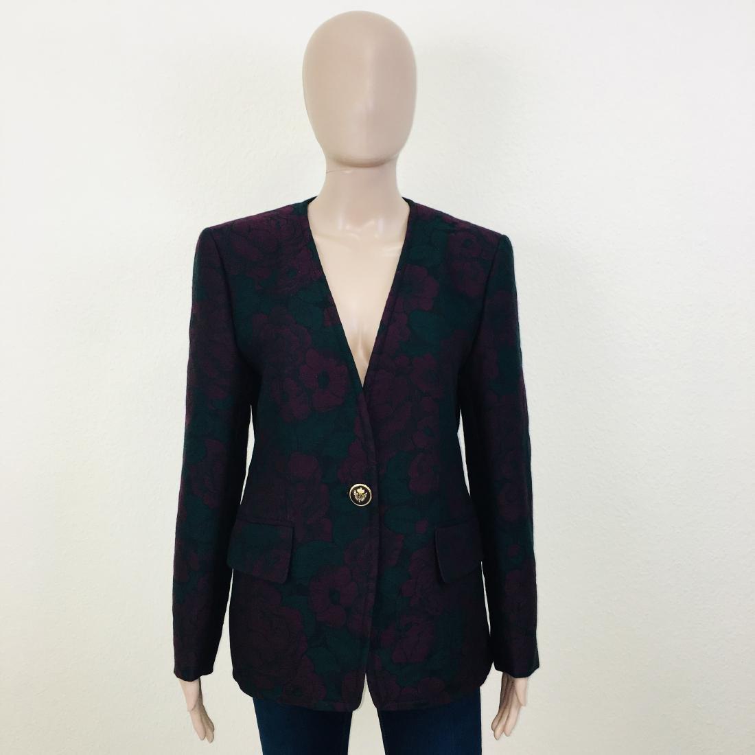 Vintage Women's Designer Blazer Jacket