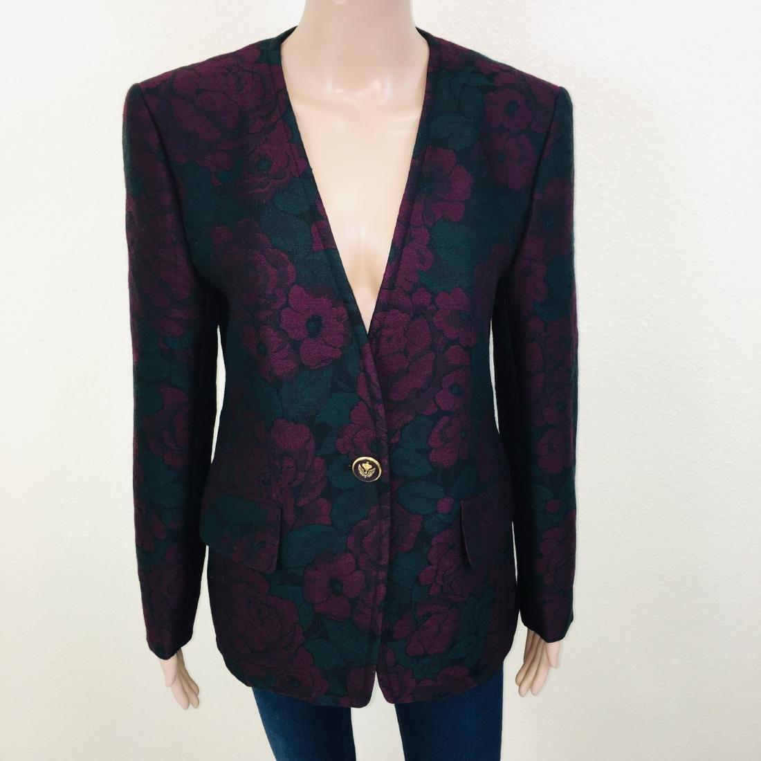 Vintage Women's Designer Blazer Jacket - 4