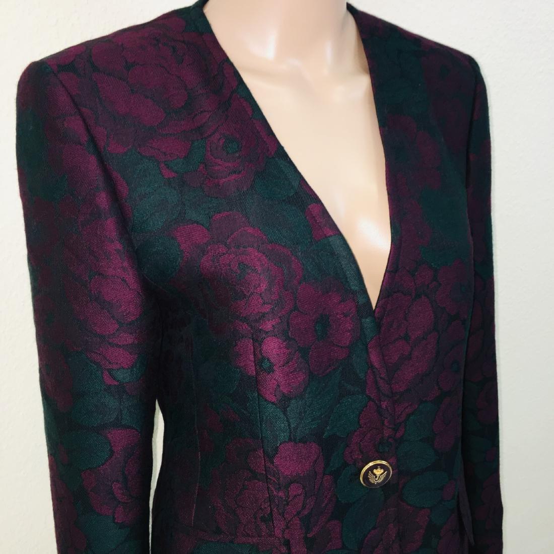 Vintage Women's Designer Blazer Jacket - 5