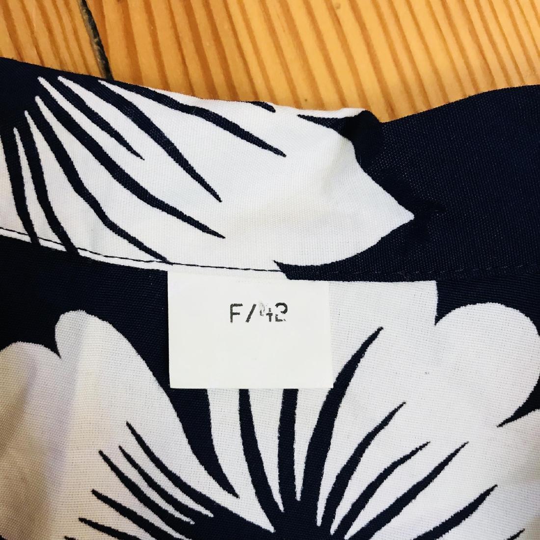 Vintage Women's Navy Blue Blouse Shirt Top - 5