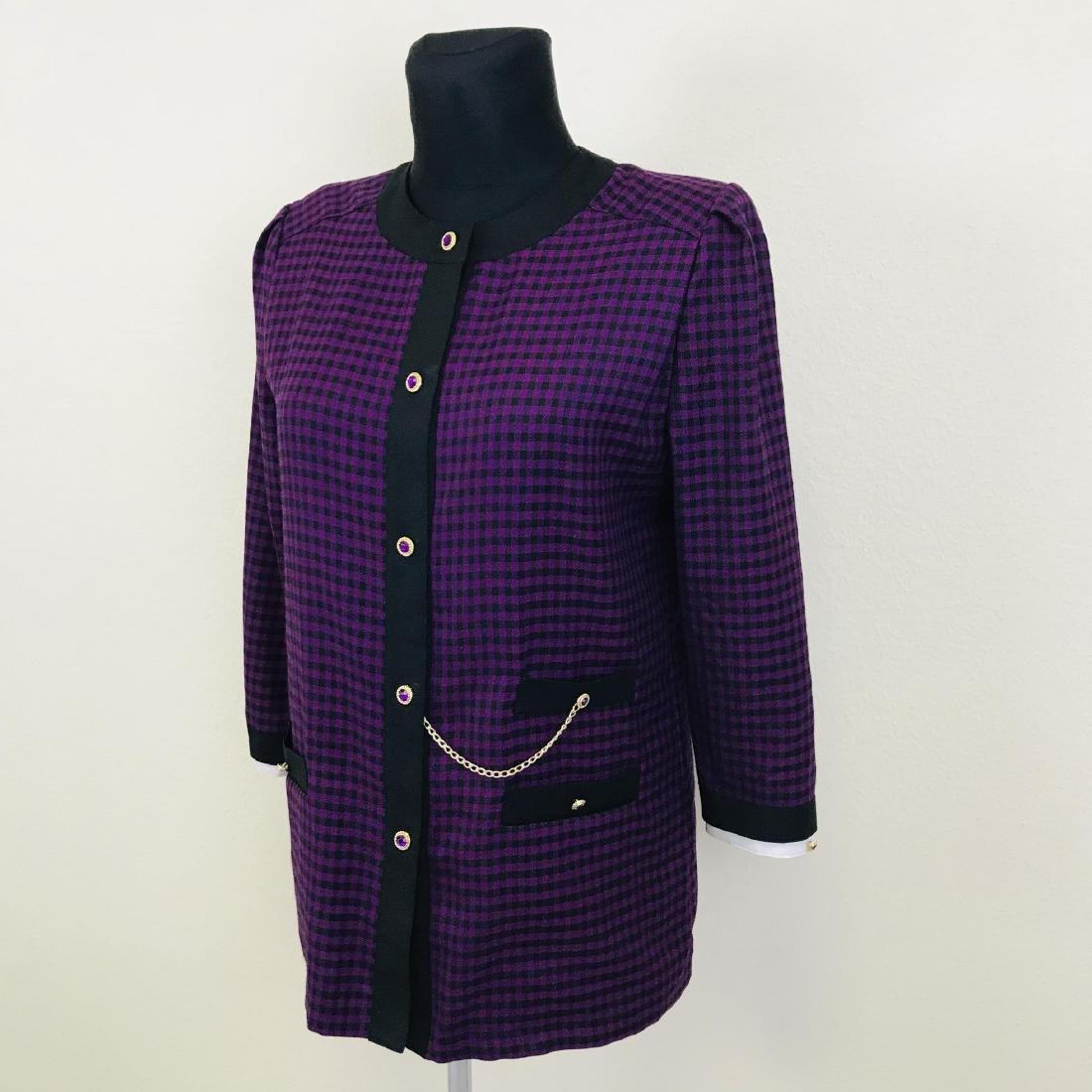 Vintage Women's Blazer Jacket - 2