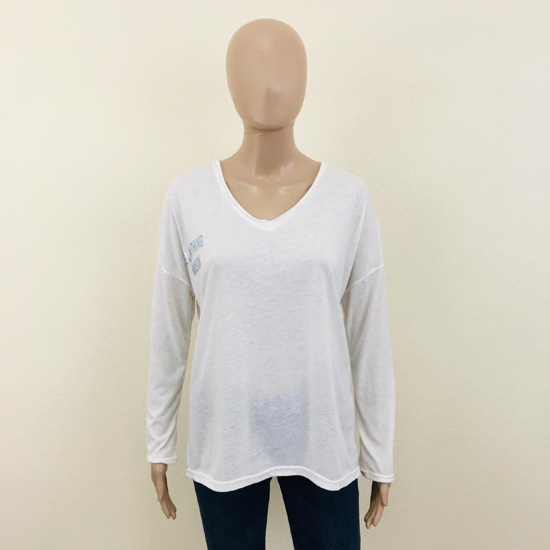 New Women's ZARA Oversized Top Blouse Size M