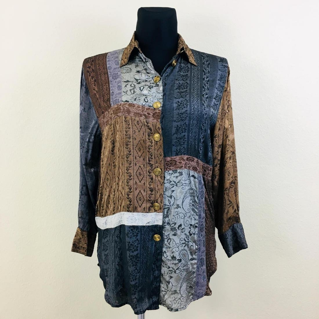 Vintage Women's Young Classic Top Blouse