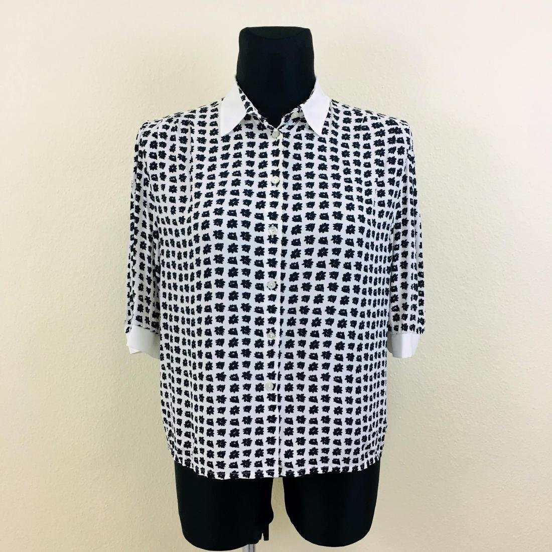 Vintage Women's German Designer Top Blouse