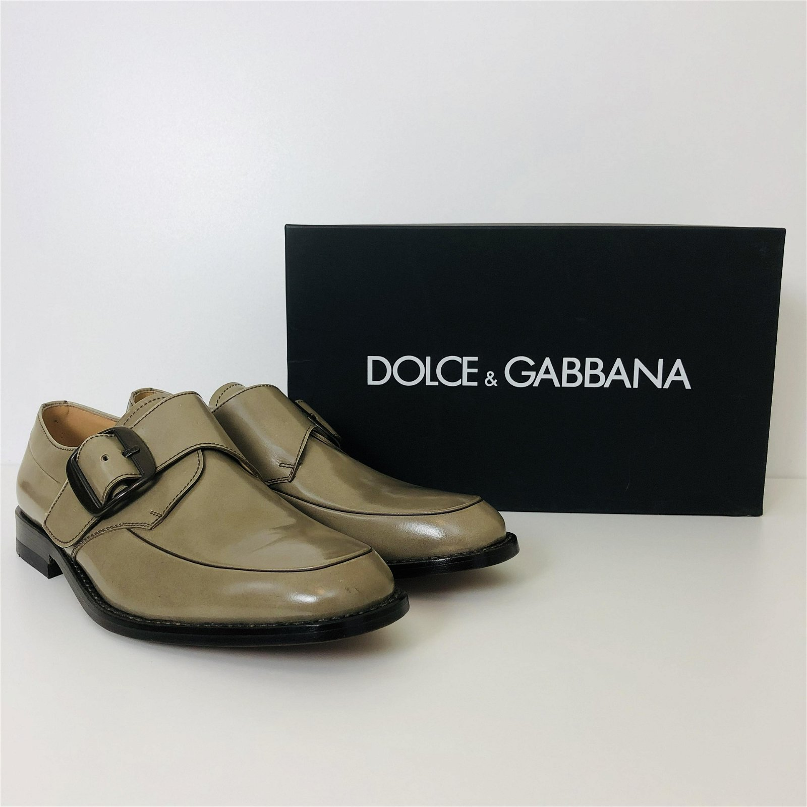 Men's Dolce & Gabbana Leather Loafers Shoes US 10